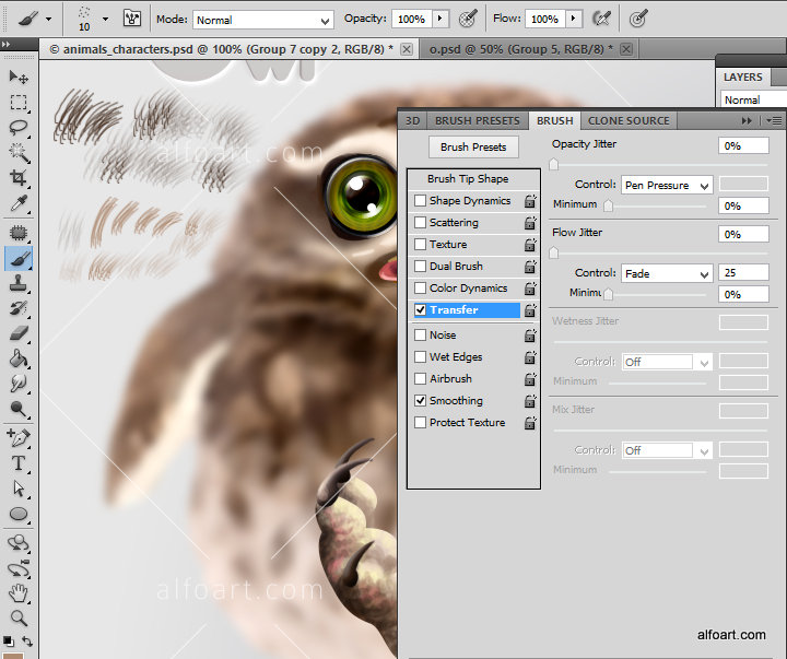 how to create cute and funny Animals Characters. This Adobe Photoshop ...