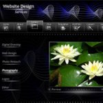 Black Website Design