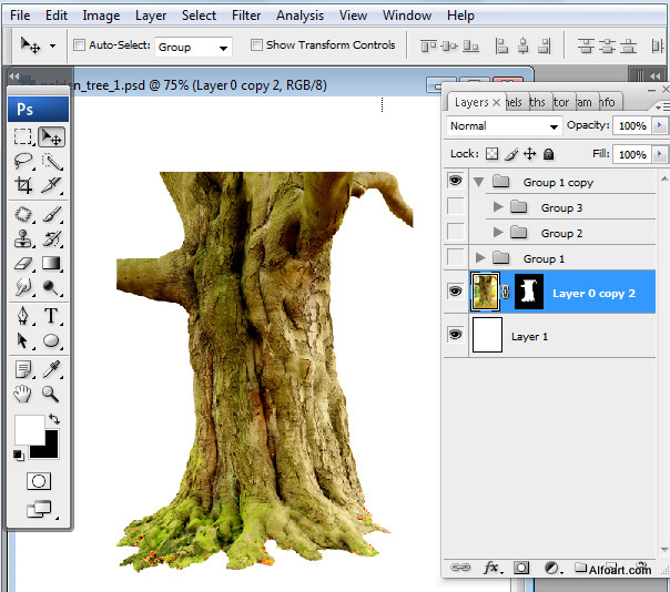 How to Draw Trees in Photoshop