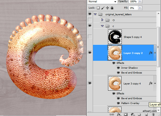 Learn how to create 3d octopus text effect. This Adobe Photoshop tutorial teaches how to apply octopus skin texture and light reflections to the 3d letters