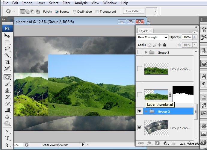 Học 1%20%2811%29 Xây Dựng Tòa Lâu Đài trên Mây trong Photoshop