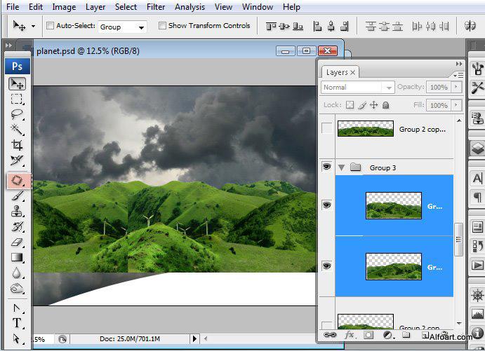 Học 1%20%2815%29 Xây Dựng Tòa Lâu Đài trên Mây trong Photoshop