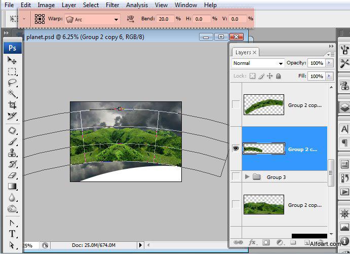 Học 1%20%2817%29 Xây Dựng Tòa Lâu Đài trên Mây trong Photoshop