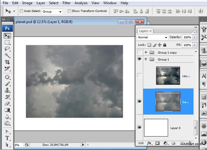 Học 1%20%282%29 Xây Dựng Tòa Lâu Đài trên Mây trong Photoshop