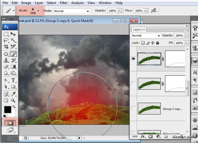Học 1%20%2821%29 Xây Dựng Tòa Lâu Đài trên Mây trong Photoshop