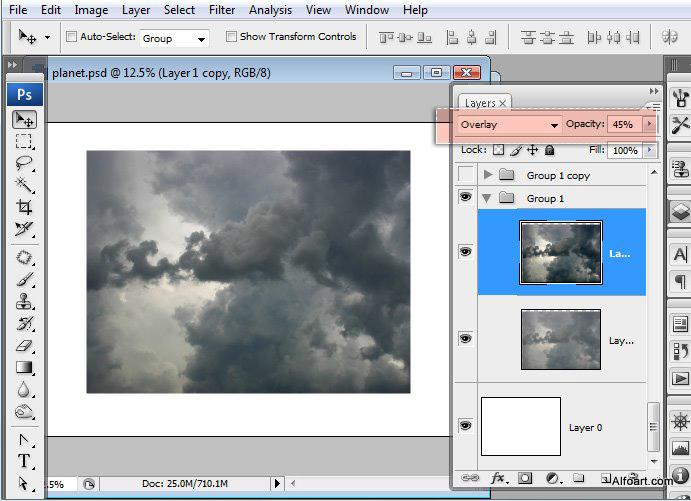 Học 1%20%283%29 Xây Dựng Tòa Lâu Đài trên Mây trong Photoshop