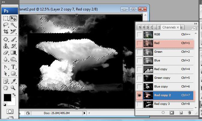 Học 1%20%2842%29 Xây Dựng Tòa Lâu Đài trên Mây trong Photoshop