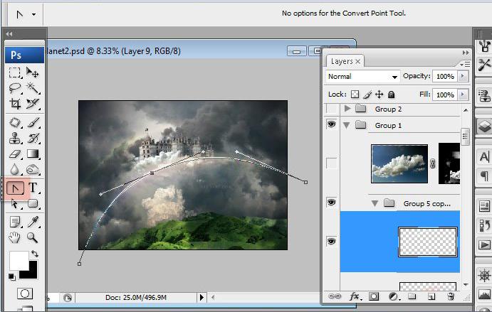 Học 1%20%2847%29 Xây Dựng Tòa Lâu Đài trên Mây trong Photoshop