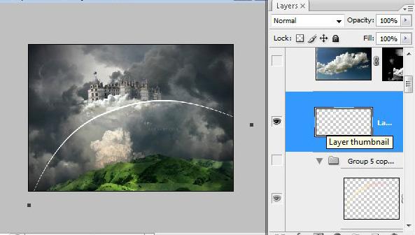 Học 1%20%2848%29 Xây Dựng Tòa Lâu Đài trên Mây trong Photoshop