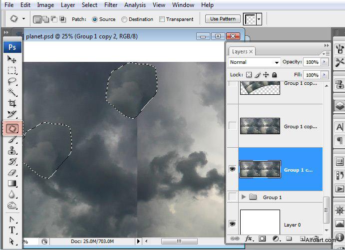Học 1%20%285%29 Xây Dựng Tòa Lâu Đài trên Mây trong Photoshop