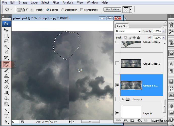 Học 1%20%286%29 Xây Dựng Tòa Lâu Đài trên Mây trong Photoshop