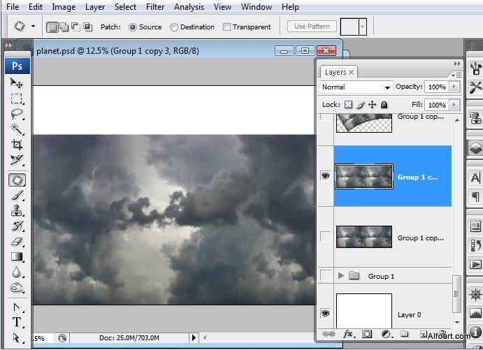 Học 1%20%287%29 Xây Dựng Tòa Lâu Đài trên Mây trong Photoshop