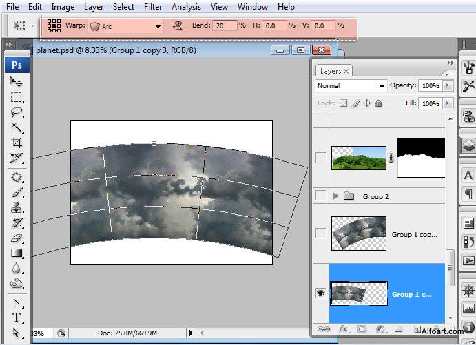 Học 1%20%288%29 Xây Dựng Tòa Lâu Đài trên Mây trong Photoshop