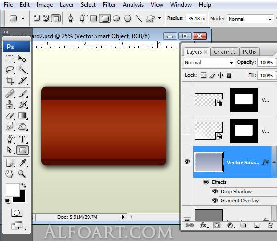 photoshop web graphics credit card design tutorial