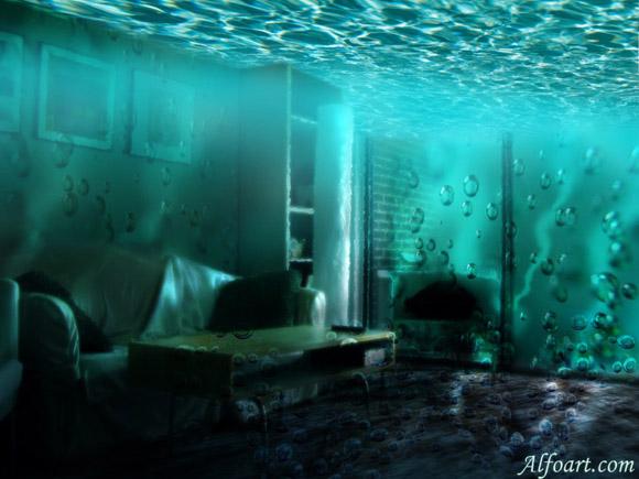 underwater themed room underwater room tutorial